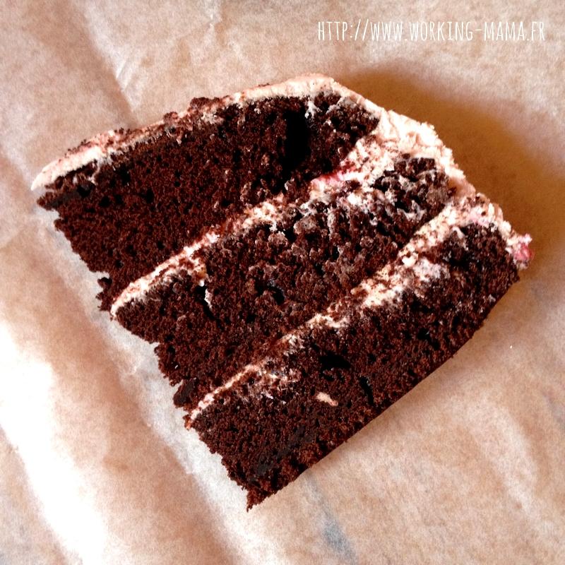 gateau d'anniversaire chocolat plusieurs couches – arts culinaires
