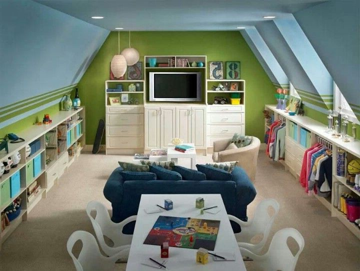 les chambres d enfant sous combles working mama. Black Bedroom Furniture Sets. Home Design Ideas